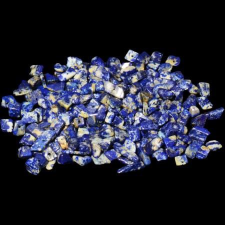 Lapis Lazuli chips med hull
